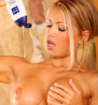 Anette Dawn nude in shower