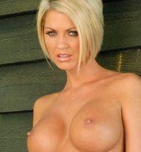 Playboy Cyber Girl of the Week January 26, 2009 Brandi Corbin nude