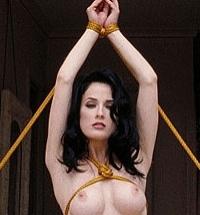 Ken Marcus Dita von Teese nude bondage