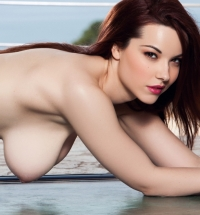Playboy Cybergirl of the Year 2014 Elizabeth Marxs nude