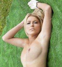 Jessica Marie Love golf course strip