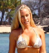 Playmate bikini time with Kendra Wilkinson on vacation in Hawaii