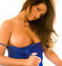 Sexy Playboy amateur Nikki Mitchell