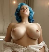 Zishy Skye Blue naked