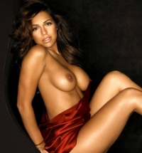 Vida Guerra Topless In Playboy