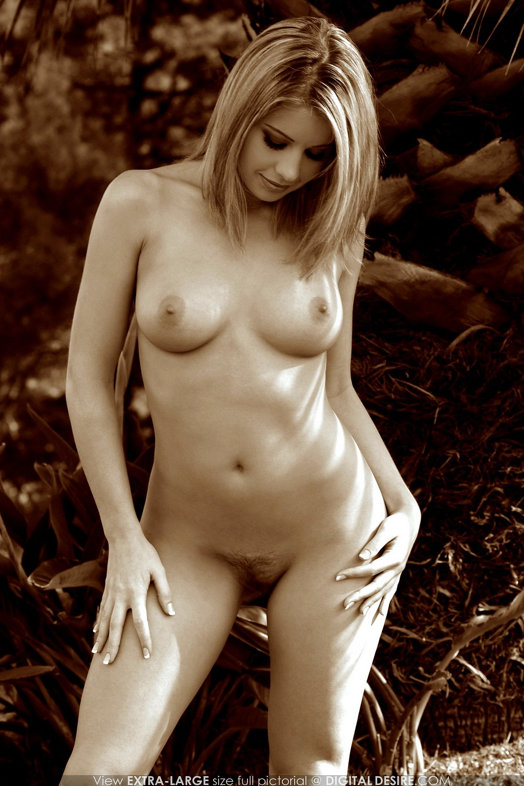 Ashley white nude