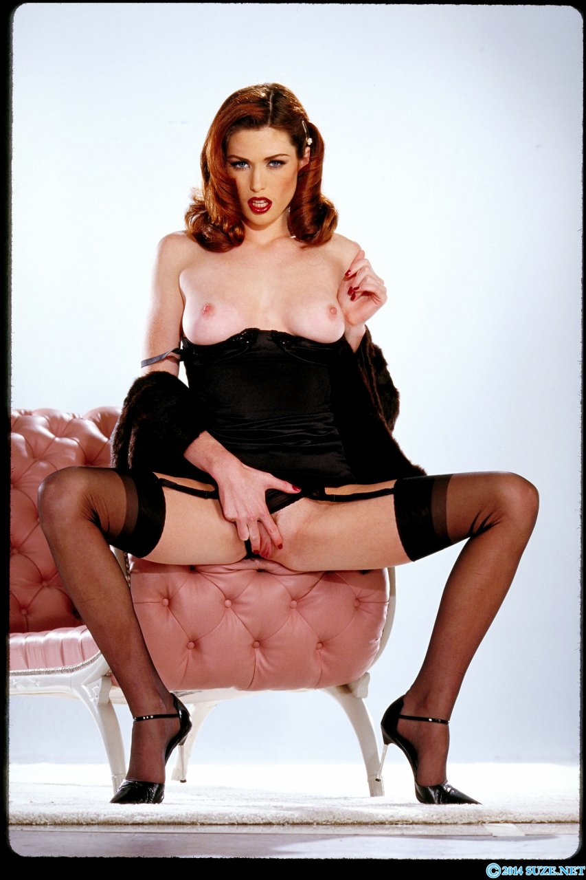 Redhead aimee nude — 11