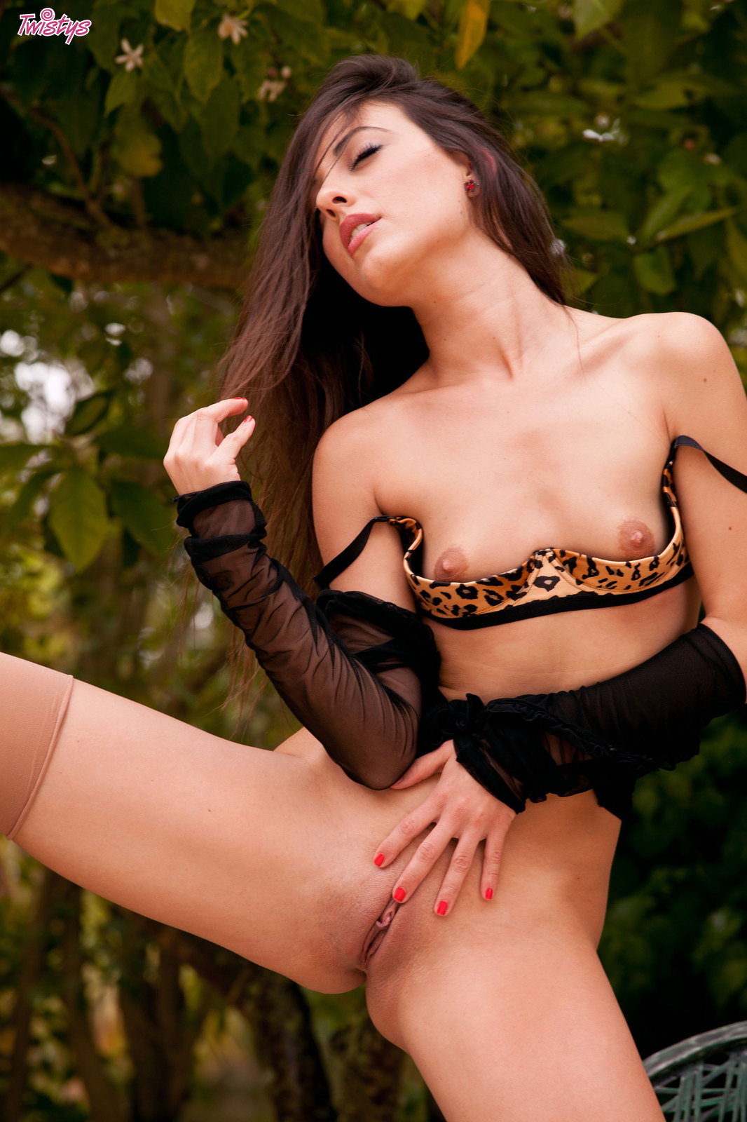 Nude In Stockings